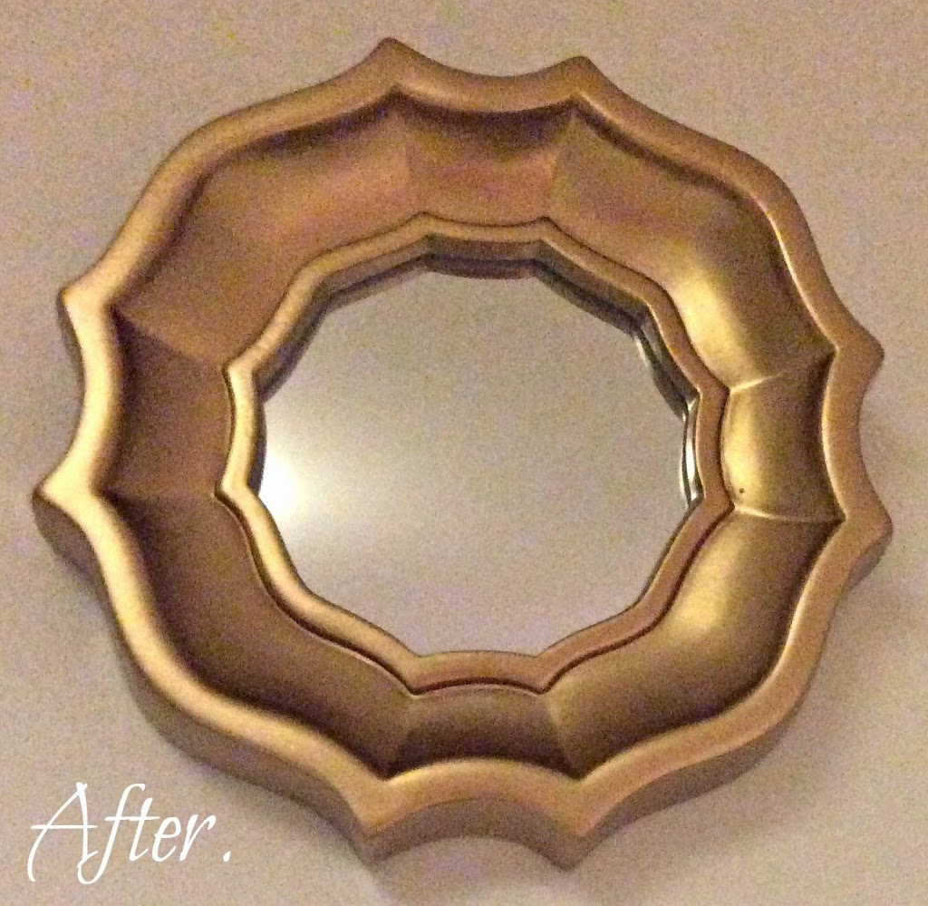 DIY mirror after