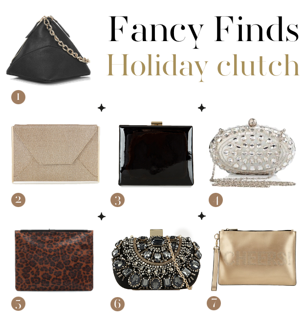 Holiday clutch