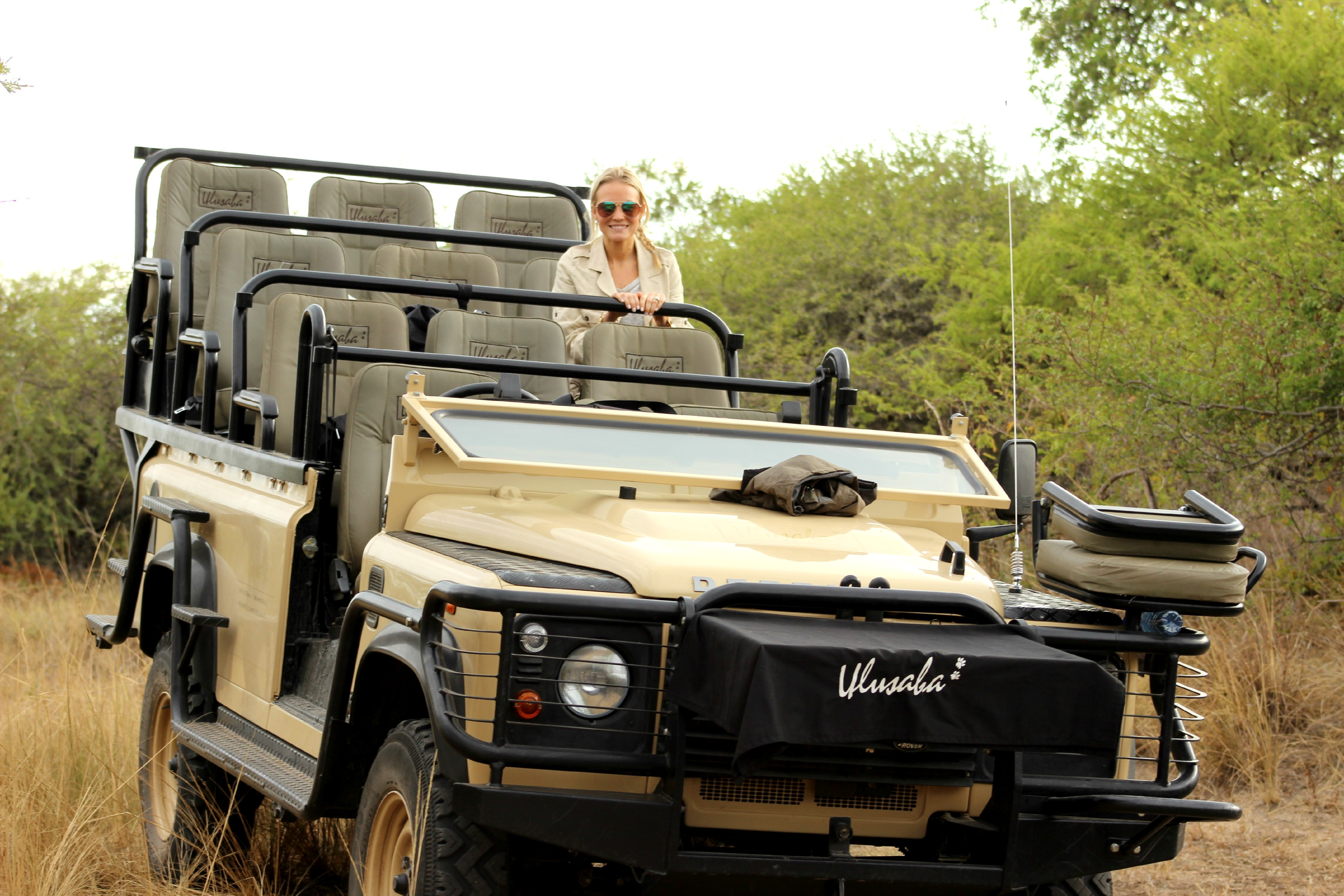 game drive ulusaba