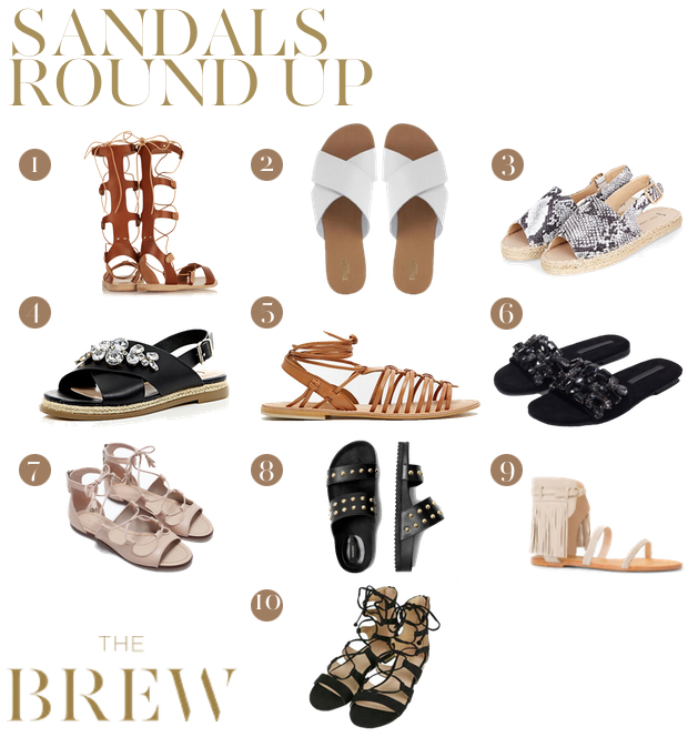 Sandals round up