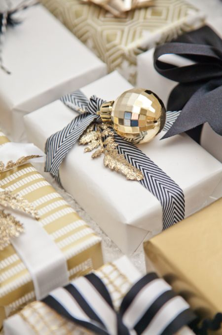 A beautifully wrapped gift