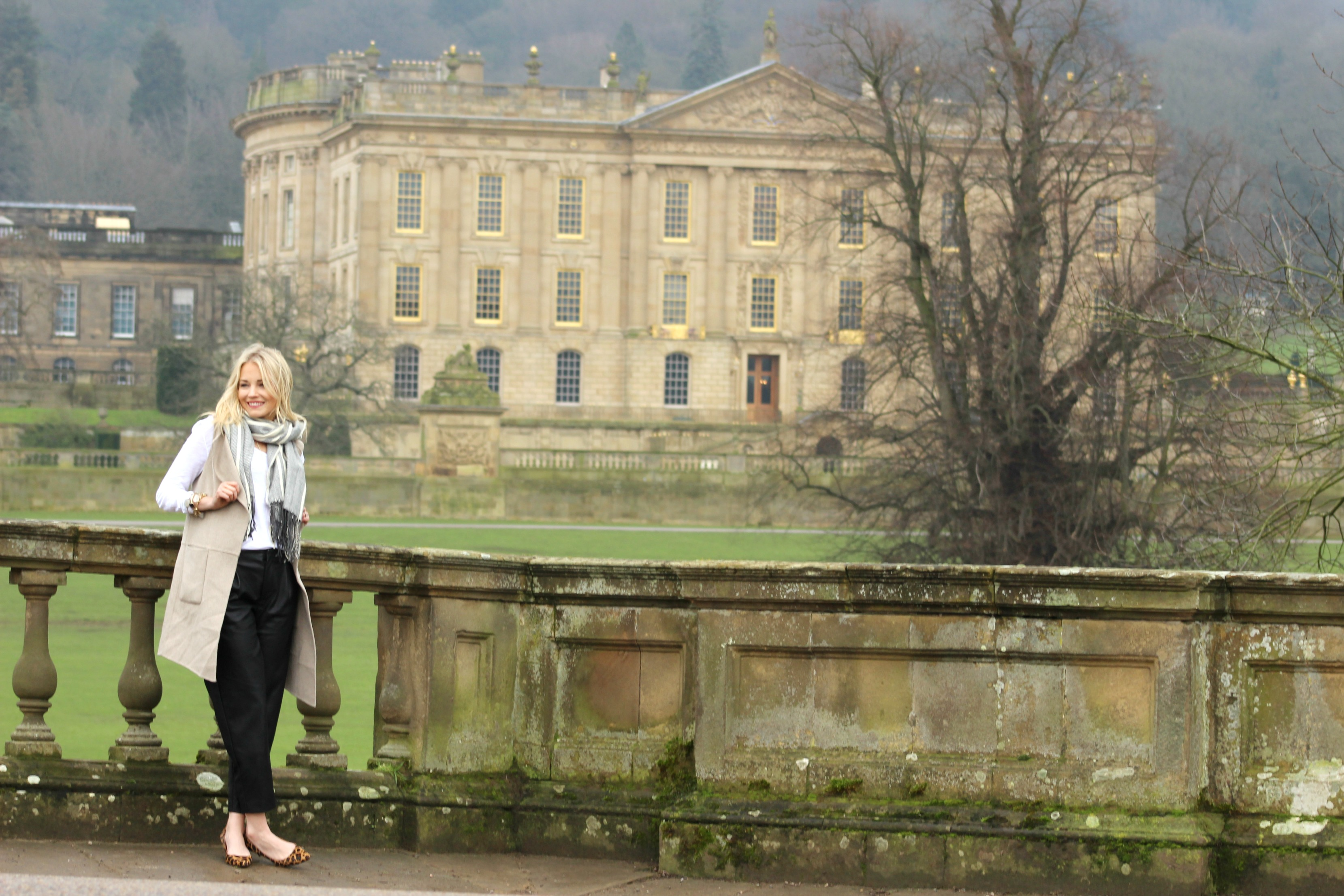 Winter wardrobe style - Chatsworth England